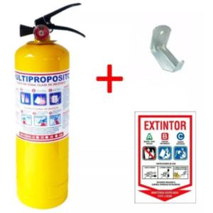 Extintor Polvo Químico Abc 20lb Multiproposito +gancho+señal